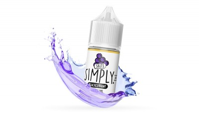 Simply Blackcurrant - Salted E-Liquid